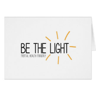 Be the Light Mental Health Ministry Card
