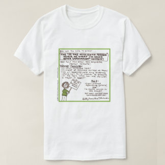 """""""Be the Millionth Person ...""""  T-Shirt (Green)"""