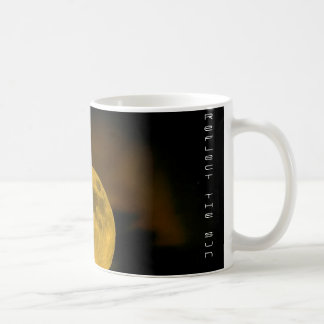 be the moon, reflect the sun coffee mug