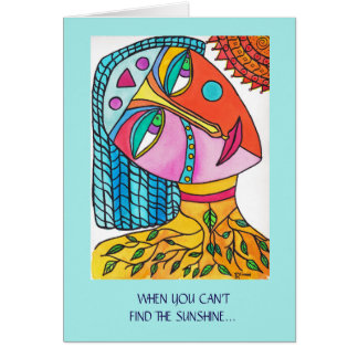 Be the Sunshine  Inspirational Greeting Card