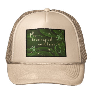 Be Tranquil Within Zen Yoga Hat