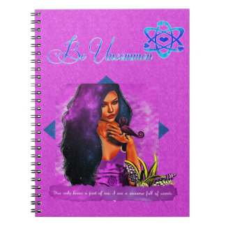 Be Uncommon Spiral Notebook