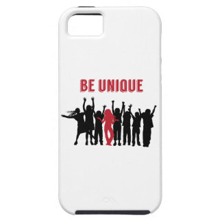 Be Unique Be Yourself Inspirational iPhone 5 Case