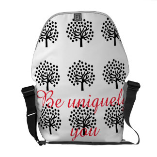 Be uniquely you messenger bag