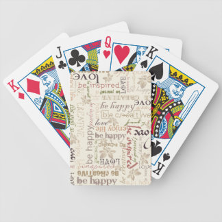 Be vintage poker deck