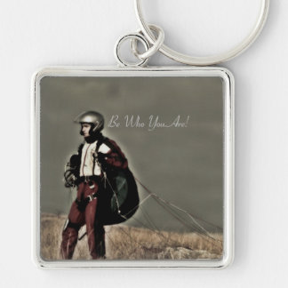 Be Who You Are Keychain