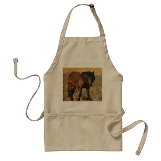 Be wild adult apron