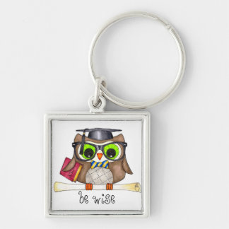 Be Wise Owl Key Chain