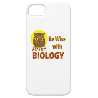 Be Wise With Biology iPhone 5 Cases