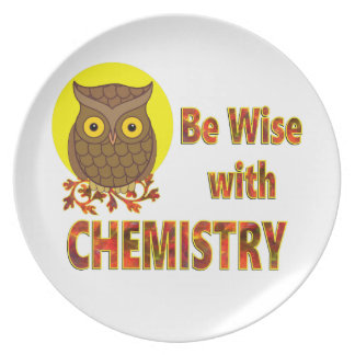 Be Wise With Chemistry Plate