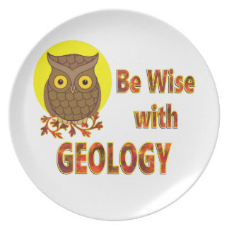 Be Wise With Geology Plate