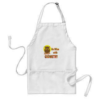Be Wise With Geometry Standard Apron