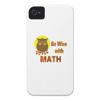 Be Wise With Math Case-Mate iPhone 4 Case