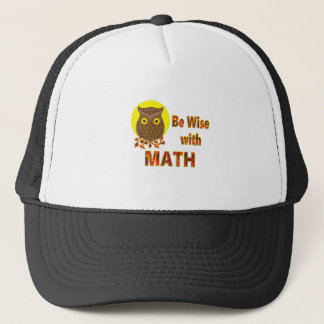Be Wise With Math Trucker Hat