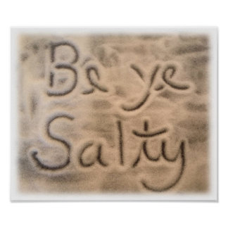 Be Ye Salty - Poster