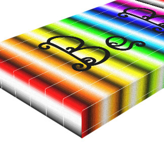 Be You Rainbow Canvas