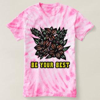 """Be Your Best"" Women's Cyclone Tie-Dye T-Shirt"