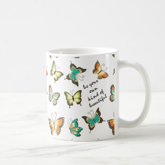 Be Your Own Beautiful Butterflies Coffee Mug