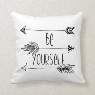 Be Yourself Arrows Cushion