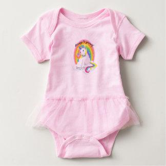 Be Yourself, Be a Unicorn Baby Tutu Baby Bodysuit