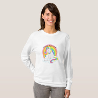 Be Yourself, Be a Unicorn Women's Long Sleeve Shir T-Shirt