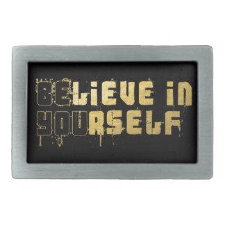 Be yourself belt buckle