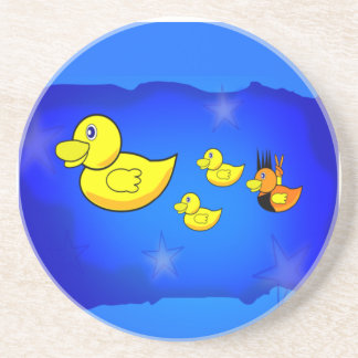 Be Yourself Duck Beverage Coaster
