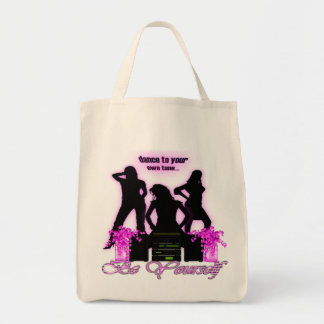 Be Yourself - Organic Grocery Tote