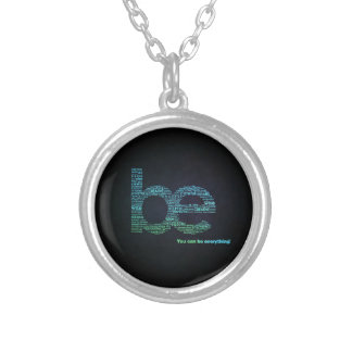 Be Yourself Silver Plated Necklace