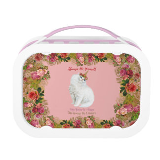Be Yourself Unicorn Cat Lunch Box