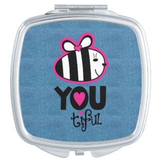 BE YOUtiful Mirror Compact Mirrors