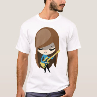 Bea the Brunette Bassist T-Shirt