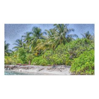 beach 08 business card