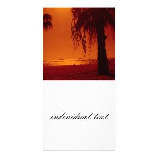 beach 14 picture card