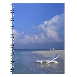 Beach 3 spiral notebook
