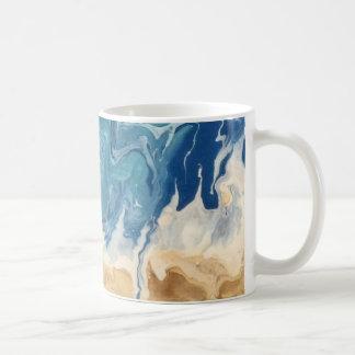 Beach Abstract Art Coffee Mug