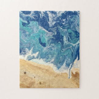 Beach Abstract Art Puzzle