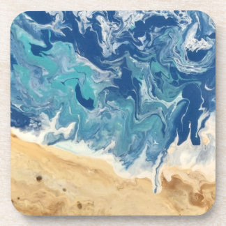 Beach Abstract Coasters (set of 6)