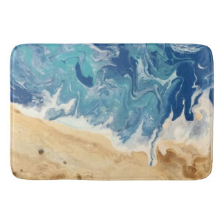 Beach Abstract Large Bathmat