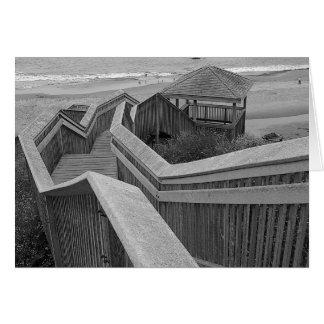 Beach Access, Bandon, Oregon Card