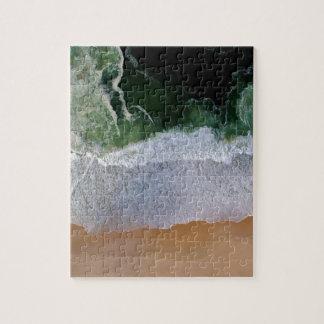 Beach Aerial View Jigsaw Puzzle