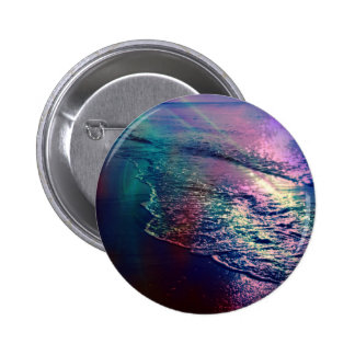 Beach altered colors 03 pinback buttons