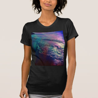 Beach, altered colors 03 t-shirts