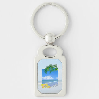 Beach And Blue Skies Key Chains