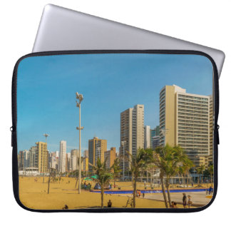 Beach and Buildings of Fortaleza Brazil Laptop Computer Sleeves