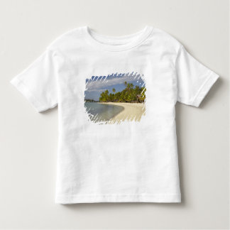 Beach and palm trees, Plantation Island Resort 2 T-shirts