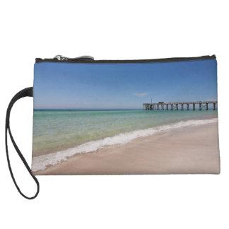 Beach and Pier zipper pouch