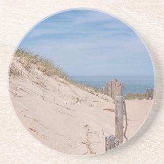 Beach and sand dunes coaster