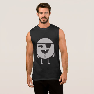 Beach antineutron without sleeves sleeveless shirt