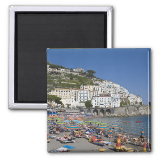 Beach at Amalfi, Campania, Italy Square Magnet
